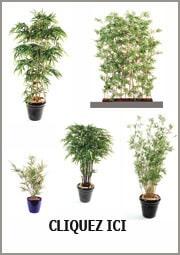 Plante artificielle ext rieur int rieur et fleurs for Bambous artificiels pour exterieur